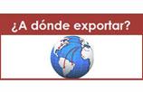 A donde Exportar